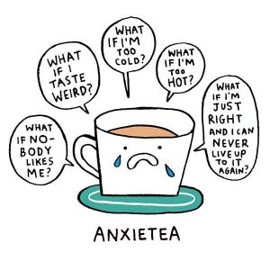Anxietea by Gemma Correll