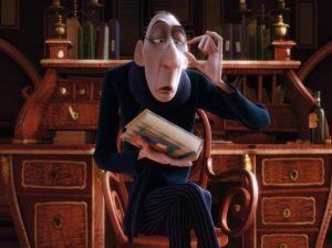 Anton Ego, the food critic in the movie Ratatouille