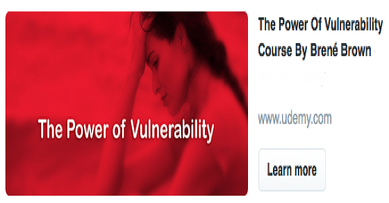 The Power of Vulnerability online course