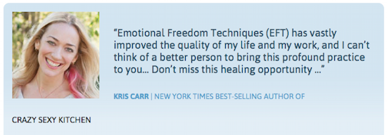 Kris Carr testimonial for The Tapping Solution