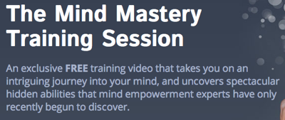 Mind Mastery Training