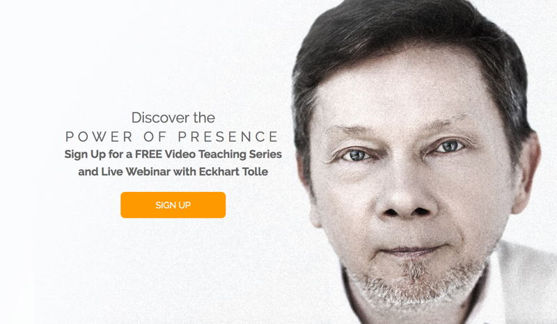 Eckhart Tolle free video series
