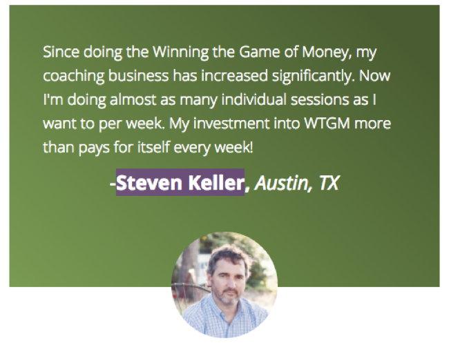 testimonial-Steven Keller
